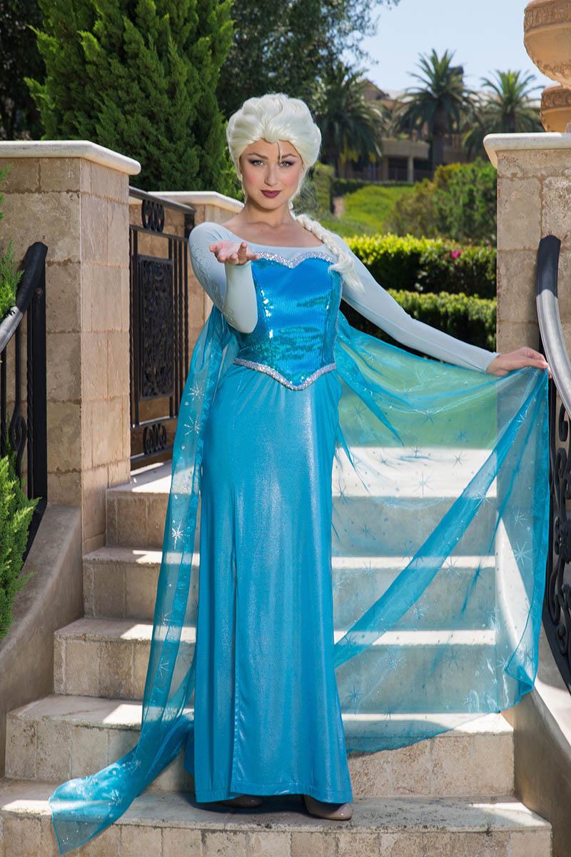 Frozen elsa party character for kids in jacksonville